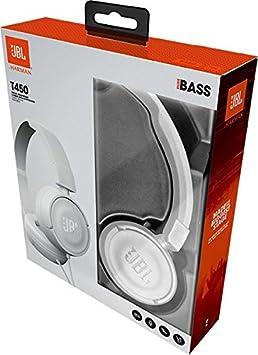 JBL T450BT On-Ear Bluetooth-Kopfh/örer Bis zu 11 Stunden Musik streamen mit nur einer Akku-Ladung Blau Kabellose Ohrh/örer mit integriertem Headset