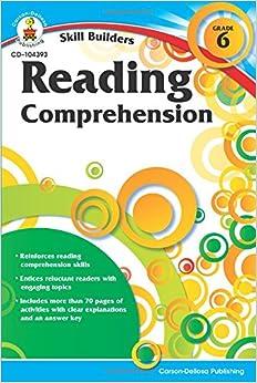 Reading Comprehension, Grade 6 (Skill Builders (Carson-Dellosa))