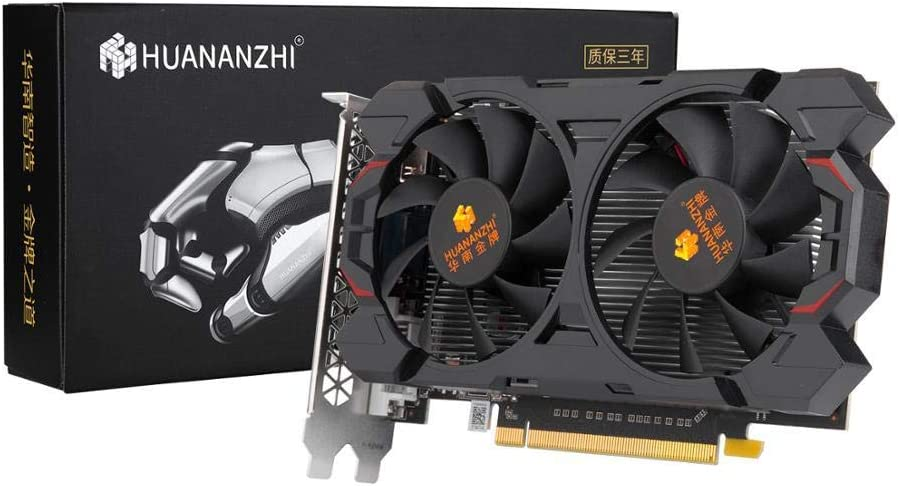 HUANANZHI GTX960 4G graphics card 128Bit GDDR5 6600MHz 1127MHz HDMI DVIVGA 28Nm 1024Units 120W GTX 960 4G Video Car