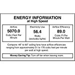 """Honeywell Belmar 52"""" Outdoor Ceiling Fan 9 QUALITY DESIGN: Features a bronze finish and 5 ETL damp rated fan blades. Perfect for outdoor patios, workshops, breezeways, gazebos, pergolas and other outdoor spaces. EASY CONTROLS: Traditional pull chains included for easy """"on and off"""" adjustments but this fan is also compatible with Honeywell ceiling fan remotes. QUIET REVERSIBLE MOTOR: Conveniently quiet, 3 speed, reversible motor that can be run in reverse in the winter to aid in rotating the warm air in the room."""