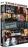 5 films ?? suspense : From Hell + L'ann??e du dragon + Usual Suspects + The Sentinel + Crimes et pouvoir