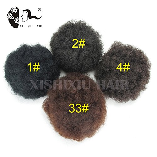 Beauty : Hair Bun Clip In Hair Pieces Chignon Synthetic Hairpieces Bun Extension Donut Roller Hairpieces Postiche Chignon Bun (2#)