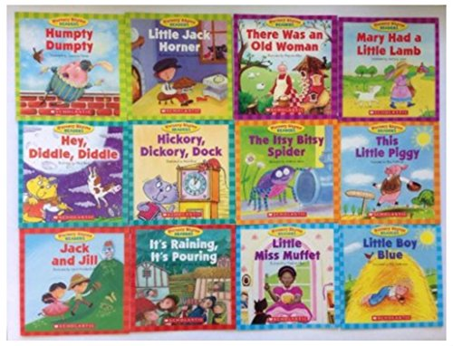 Nursery Rhyme Readers Childrens Books Preschool Teaching Supplies Lot 12 Set NEW