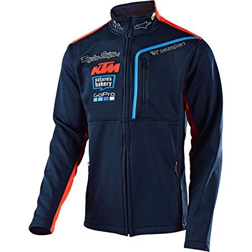 Troy Lee Designs 2018 KTM Team Pit Polar Fleece Jacket-L Lee Sports Sweatshirt