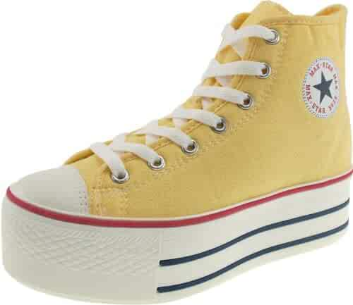 9862d742e592 Shopping Yellow - 8 - Fashion Sneakers - Shoes - Women - Clothing ...