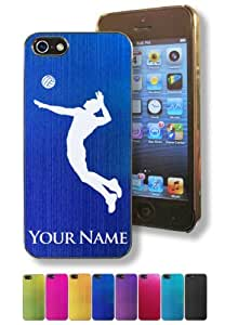 Apple Iphone 5/5S Case/Cover - VOLLEYBALL MAN / SPORT - Personalized for FREE (Click the CONTACT SELLER button after purchase and send a message with your case color and engraving request)
