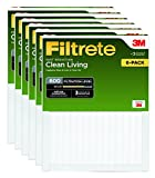 Filtrete Clean Living Dust Reduction AC Furnace Air Filter, MPR...