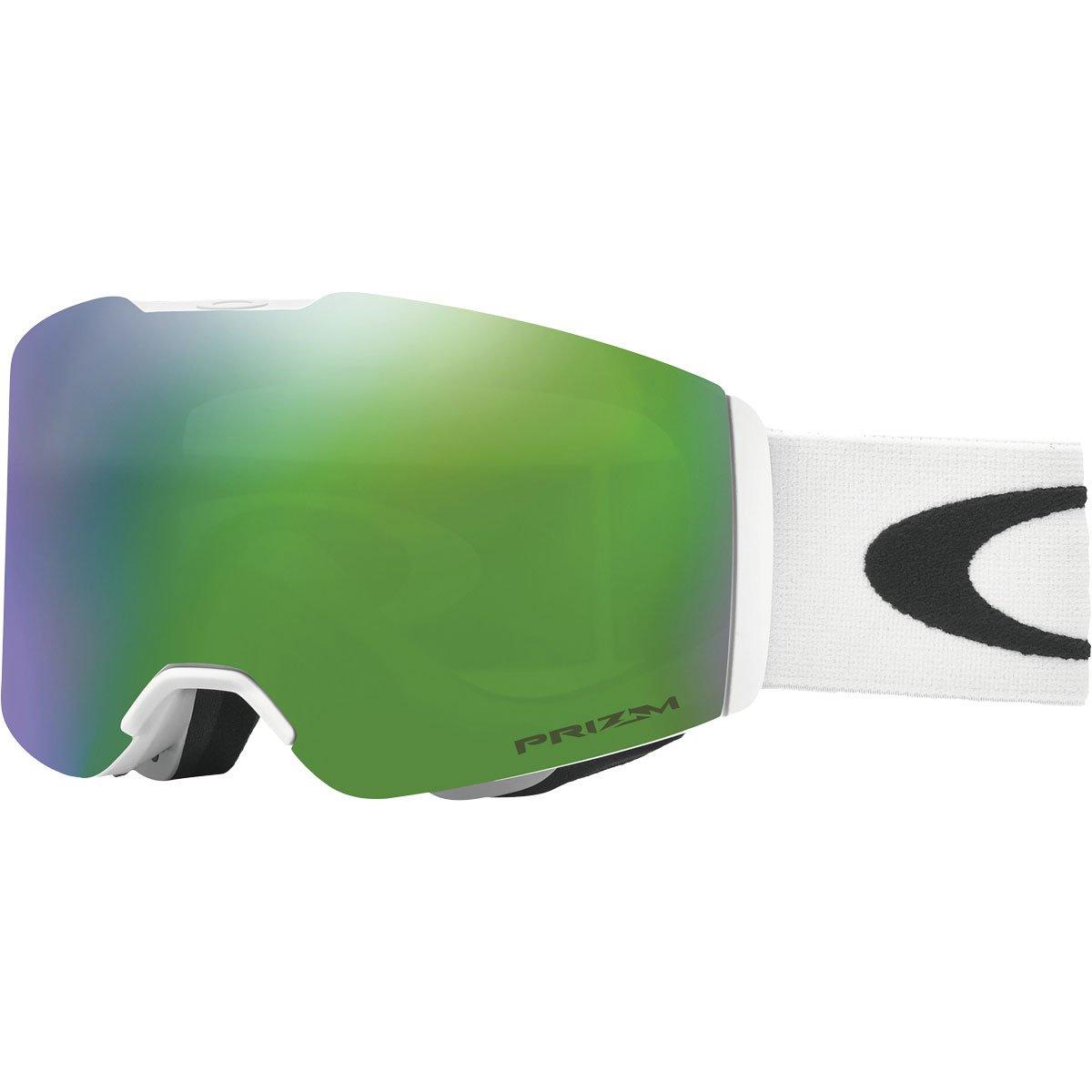 Oakley Fall Line Snow Goggles, Matte White Frame, Prizm Jade Iridium Lens, Medium by Oakley
