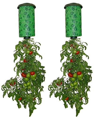 (Felknor Ventures 82506 Topsy Turvy Upside-Down Tomato Planter 2 Pack)