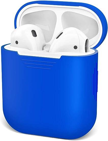 Funda para AirPods de Apple Silicona, Resistente al Agua, a Prueba de Golpes, Resistente a los Golpes, para Apple AirPods, iPhone X//XS//XR//X MAX7//7P//8//8P iKNOWTECH