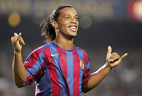 XXW Artwork Ronaldinho Poster Football player/Ronaldo de Assis Moreira Prints Wall Decor Wallpaper