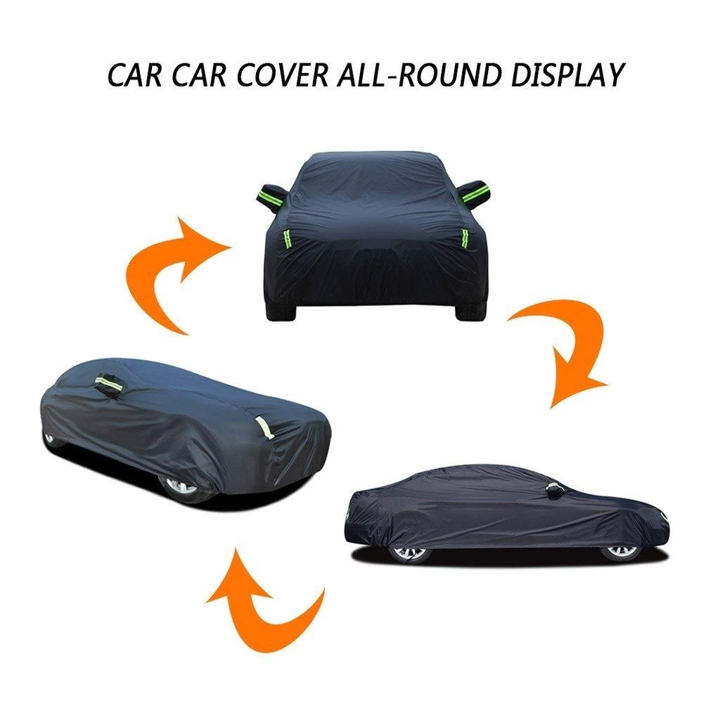 DSISI Car Cover Compatible with Fiat 124 Spider Special Full Exterior Cover Breathable In//Outdoor Waterproof//Windproof//Dustproof//Scratch Resistant Thick Car Cloth for All weather