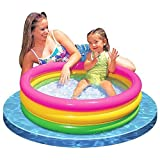 Intex Baby Sunset Glow Pool Game Slide Inflatable Kids Backyard Fun Play Center Summer Outdoor Pool Fun Swimming