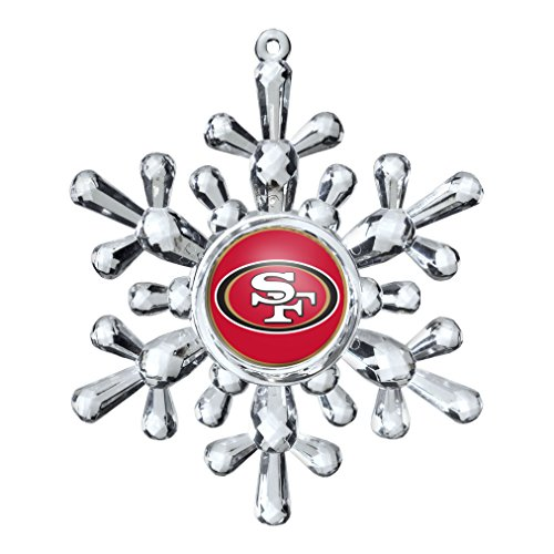 NFL San Francisco 49ers Snowflake Ornament