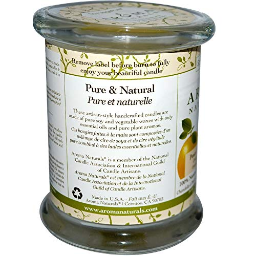 Amazon.com: Aroma Naturals, 100% Natural Soy Essential Oil Candle, Peace Pearl, Orange, Clove & Cinnamon, 8.8 oz (260 g)(1 Packs)+Sundesa, Blender Bottle, ...
