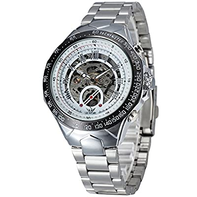 Buyterest ALPS Men's Stainless Steel Self Winding Automatic Mechancial Wristwatch