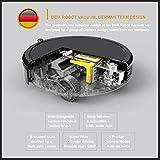 Deik Robotic Vacuum Cleaner, New Version with
