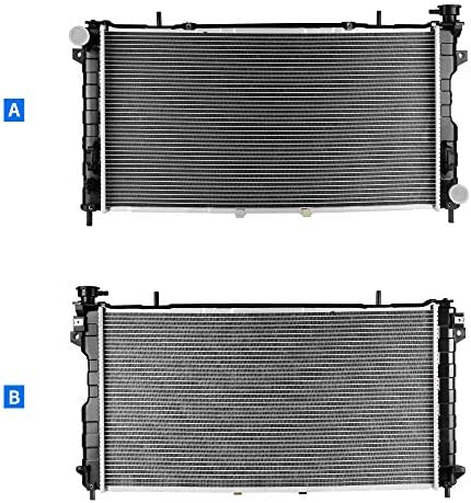 Radiator For 2001-2004 Dodge Caravan Voyager Chrysler Town /& Country 3.3L 3.8L