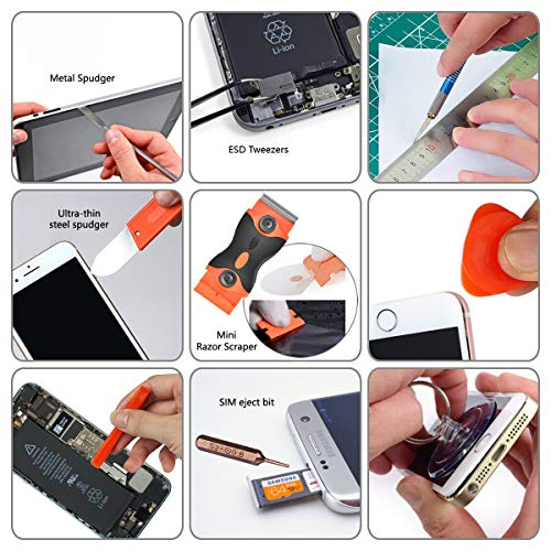 96 in 1 Screwdriver Set Precision,Full Electronic Repair Tool Kit Professional,S2 Steel for Fix iPhone/Computer/Mobile Phone/iPad/MacBook/Laptop/Watch/Game Console DIY Pry Open Replace Screen by GANGZHIBAO (Image #5)
