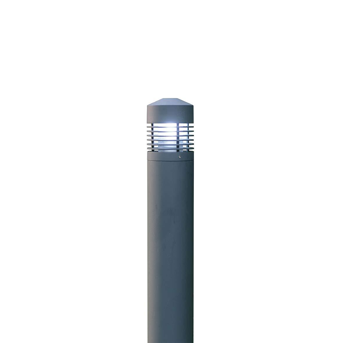 Palo Ø170x800 E27 60W max. colore  grigio.