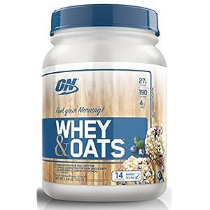 Optimum Nutrition On Whey & Oats Protein Powder