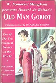 old goriot essay Père goriot (1835) and its panoramic décor elizabeth gaskell's north and south  (1855),  multivolume collections of sketches, essays, episodic stories, jokes,.