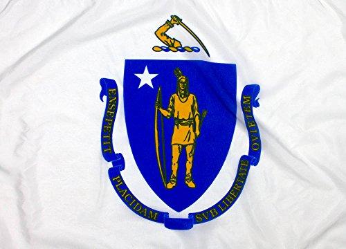 - 3x5ft Massachusetts Flag - Highest Quality Outdoor Nylon