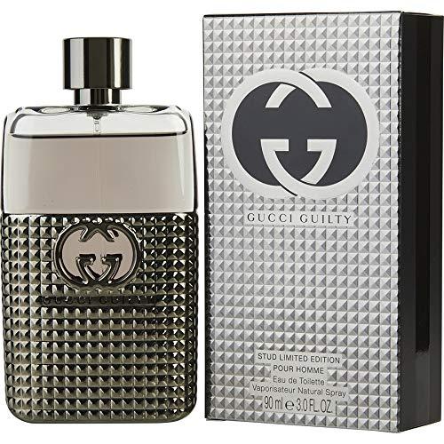 Gùcci Guilty Stud Limited Edition For Men Eau de Toilette Spray 3 OZ./ 90 ml. (Flora By Gucci Eau De Toilette 30ml)