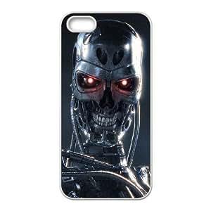 Terminator iPhone 5 5s Cell Phone Case-White MSU7206941