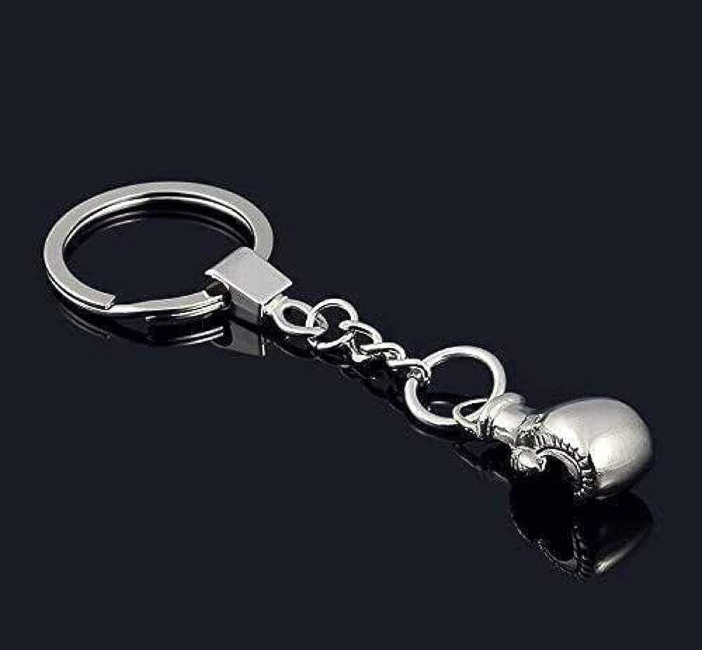 Sport Key ring, Boxing Glove Charms Boxing Key ring Silver Boxing Gloves Charm Key ring Boxing Keychain