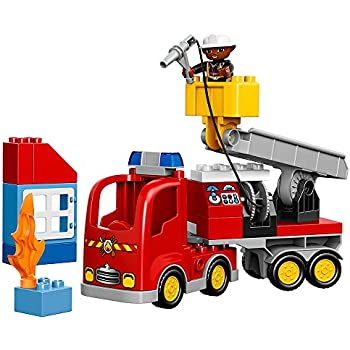 LEGO DUPLO Town Fire Truck 10592 Buildable Toy for 1-4Year-Olds