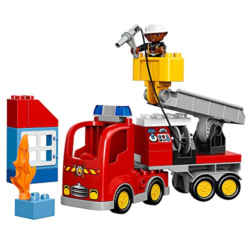 Lego Fire Truck Instructions - LEGO Duplo Town 10592 Fire Truck Building Kit