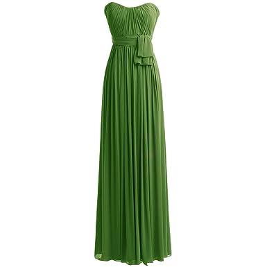 b4c6df63fd Ugly Duckling Women s Long Chiffon Bridesmaid Prom Dresses Evening Dresses -an-26Plus