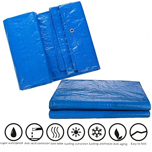 HitommyWaterproof Cover Tarpaulin Groundsheet Camping Light Weight Tarp for Car Outdooors – 02