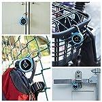 Ancoree-Smart-Bluetooth-Impronte-Digitali-Biometrico-Portatile-IP65-Impermeabile-lucchetto-Sicuro-allaperto-Sicurezza-Serratura-Keyless-Touch-AndroidiOS-APP-Supporto-e-Ricarica-USB