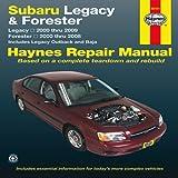 Subaru Legacy and Forester, Editors of Haynes Manuals, 1620920042