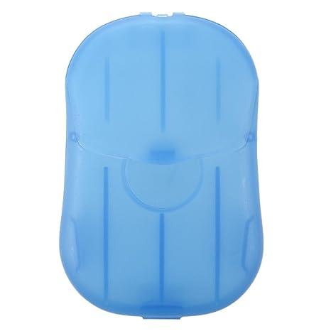 SODIAL(R) 2 cajas Mini lavado de manos Bath Travel perfumadas hojas deslizantes Jabon
