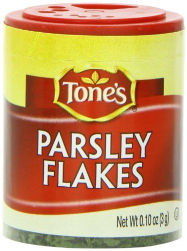 Tone's Mini's Parsley Flakes, 0.10 Ounce (Pack of 6) by Tone's