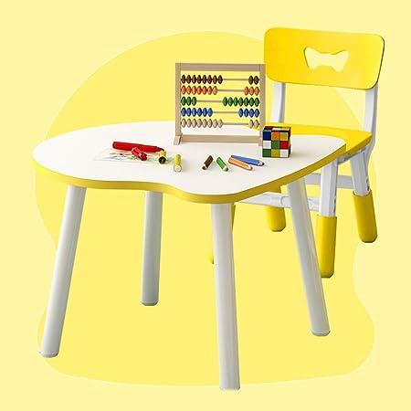 Juego de Mesa y Silla para niños, Mesa de Comedor y Dibujo para bebés, Dormitorio/Sala de Estar/jardín de Infancia: Amazon.es: Hogar