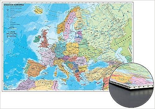 Staaten Europas Zum Pinnen Auf Wabenplatte Amazon De Stiefel