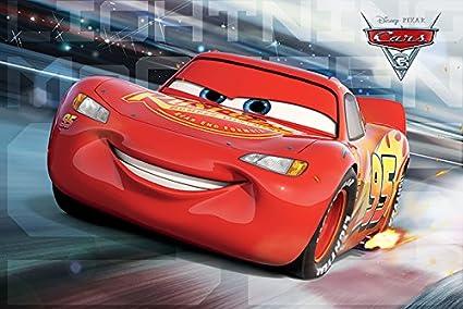 Amazon Com Cars 3 Pixar Disney Movie Poster Print Lightning
