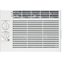 General Electric AEY05LV 5,000 BTU 150 Sq Ft, EZ Mount Window Kit, Window Air Conditioner, 115V Electrical Outlet, White Color