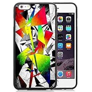 New Personalized Custom Designed For iPhone 6 Plus 5.5 Inch Phone Case For Colored Abstract Geometries Phone Case Cover