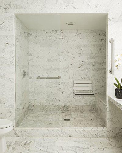 Seachrome Bathroom Grab Bar, 24 inch Stainless Steel, Handicap Grab Bar, 1 1/4 inch Diameter, Polished Finish by Seachrome (Image #4)
