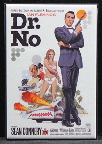 Dr. No Refrigerator Magnet. James Bond 007