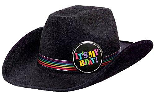 Rainbow Cowboy Hat (Amscan Rainbow Dotted