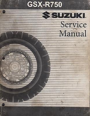 2006 SUZUKI MOTORCYCLE GSX-R750 P/N 99500-37130-03E SERVICE MANUAL (518)