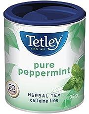 Tetley Tea Pure Peppermint Herbal Tea, 20-Count