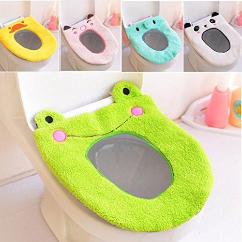 Gotd Rainbow Bathroom Toilet Seat Closestool Washable Soft Warmer Mat Cover Pad Cushion (Style 04) (Bathroom Sets Teen)