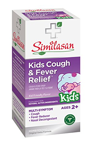 UPC 094841256108, Similasan Kids Cough and Fever Relief Syrup, 4 Ounce
